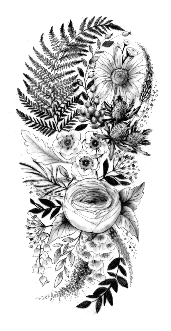 Tattoo Sleeve Sketches: *NEW!* Tattoo