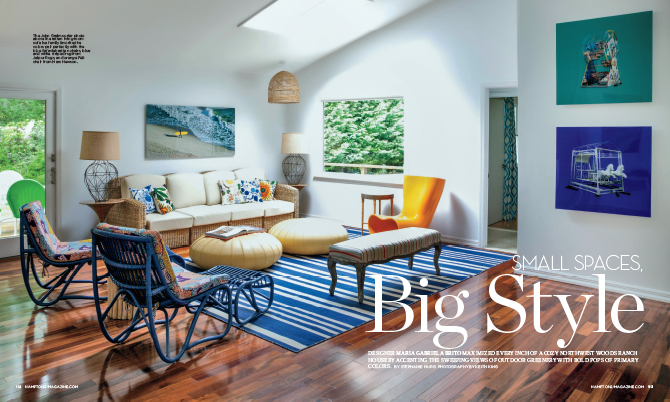 Small spaces big style homes